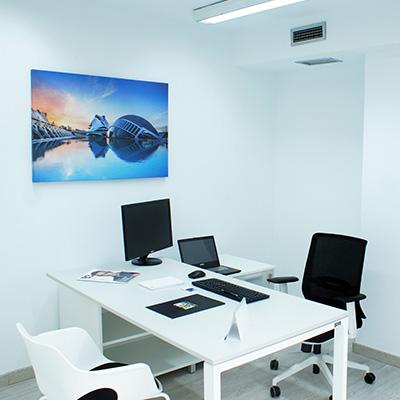 oficina despacho interior